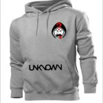 Unknown Clothing Grey Unisex Classic Hoodies