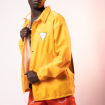 Embedded Yellow Cover Top (Coach Jacket)